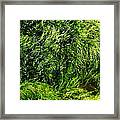 The Walls Are Alive - Seaside Abstract Framed Print