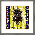 The Window At The Clark Chateau Framed Print
