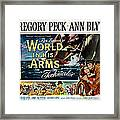The World In His Arms 1952 Framed Print by Mountain Dreams