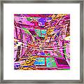 The Writing On The Wall 17 Framed Print