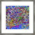 The Writing On The Wall 26 Framed Print