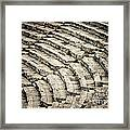 Theatre At Epidaurus Framed Print by Gabriela Insuratelu