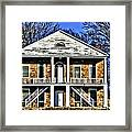Thebes Courthouse Framed Print
