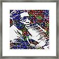 Thelonious Monk Framed Print by Jack Zulli