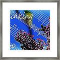 Thinking Of You  - Memories - Music Framed Print
