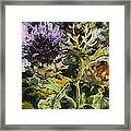 Thorny Crazy Framed Print