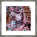 Thread Bare Framed Print