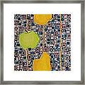 Three Apples Beat Two Pear Framed Print