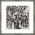 Thrilling Life Stories For The Masses 1892 Framed Print