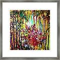Through The Forest  Framed Print by Michelle Dommer