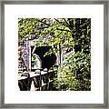 Through The Tunnel Framed Print