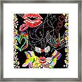 Throwing Kisses And I Love Yous Framed Print