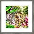 Thumbelina Framed Print by Mo T