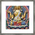 Tibetan Buddhist Deity Framed Print