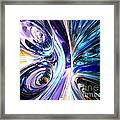 Tide Pool Abstract Framed Print