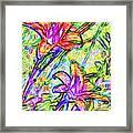 Tiger Lillies Framed Print
