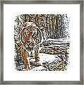 Tiger View Framed Print