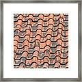 Tiled Lines Framed Print