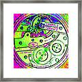 Time In Abstract 20130605m108 Square Framed Print