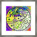 Time In Abstract 20130605m144 Square Framed Print