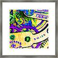 Time In Abstract 20130605m144 Framed Print by Wingsdomain Art and Photography
