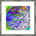 Time In Abstract 20130605m36 Square Framed Print