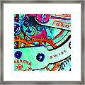 Time In Abstract 20130605m36 Framed Print