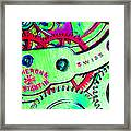 Time In Abstract 20130605m72 Long Framed Print by Wingsdomain Art and Photography