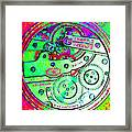 Time In Abstract 20130605m72 Square Framed Print