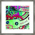 Time In Abstract 20130605m72 Framed Print