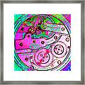 Time In Abstract 20130605p108 Square Framed Print
