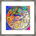 Time In Abstract 20130605p180 Square Framed Print