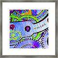 Time In Abstract 20130605p36 Long Framed Print