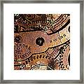 Time In Abstract 20130605rust Long Framed Print by Wingsdomain Art and Photography