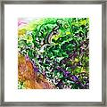 To The Unknown Abstract Path Number Four Framed Print