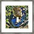 Told In A Garden Framed Print