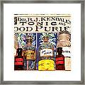 Tonic And Blood Purifier Framed Print