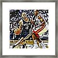 Tony Parker Painting Framed Print