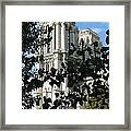 Towers Of Notre Dame Framed Print