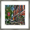 Town Of The Rising Sun Framed Print
