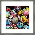 Toy Balls Framed Print
