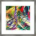 Tracings5 Framed Print