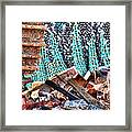 Tracks And Textures Framed Print