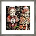 Traditional Thai Welcome Framed Print