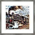 Train II Framed Print