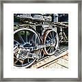 Train Wheels Framed Print