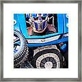 Transformer Man Mime Framed Print