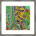 Travel Shopping Colorful Tapestry 8 India Rajasthan Framed Print