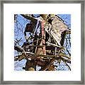 Tree Hut Framed Print