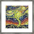 Tree Of Starlight Framed Print